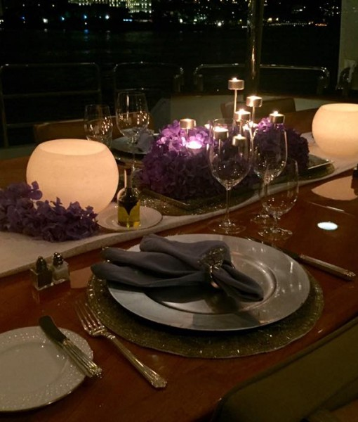 Photo Table setting YACHT